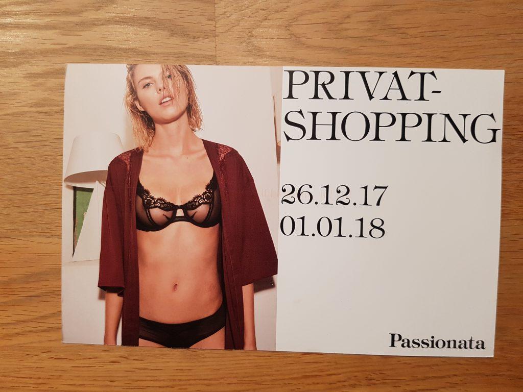 Passionata direct mailing